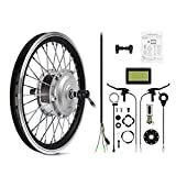 AFTERPARTZ® 20'' Electric Bike Bicycle Motor Conversion K...