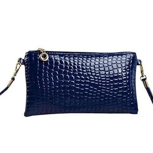 Amybria Women PU Leather Handbag Shoulder Bags Tote Satchel Messenger