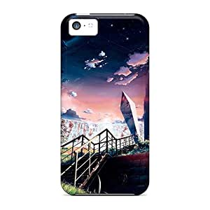 Fashion Tpu Case For Iphone 5c- Warm Spring Defender Case Cover