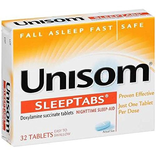 Unisom - Sleep Aid - 32 per Bottle - Tablet - 25 mg Strength-McK