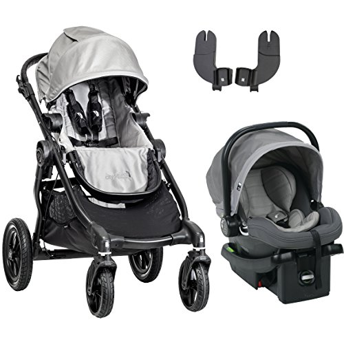 Baby Jogger 2016 City Select Travel System, Silver/Steel Gre