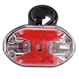 Bicycle Lights - Bicycle 7 Modes 9 Led Super Bright Warning Tail...