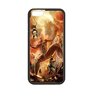Printed Phone Case Attack on Titan 01 For iPhone 6 4.7 Inch RZ1N02919