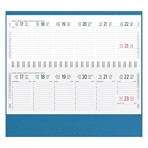 Agenda planning de mesa semanal año 2018 - Espiral ...