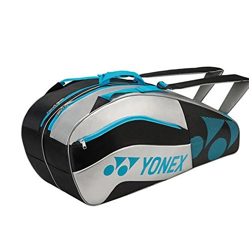 Yonex Tournament Active Series (6-Pack) Tennis Bag (Red/Gold)