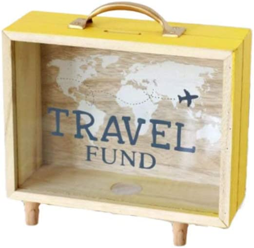Garneck - Caja de Madera para Guardar Monedas y artículos de ...
