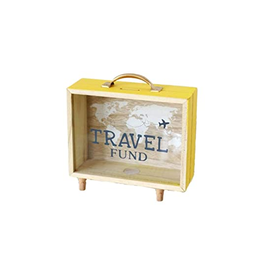 Garneck - Caja de Madera para Guardar Monedas y Objetos pequeños ...