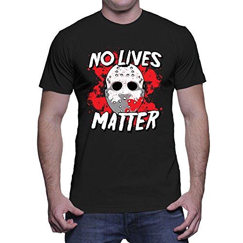 Men's No Lives Matter T-Shirt (Black, Small)]()