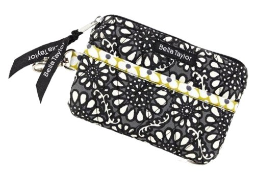 Bella Taylor Chartreuse Quilted Cotton Gadget Pouch ()