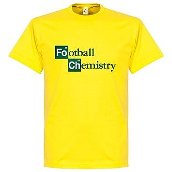 Fútbol Camiseta De Química, color amarillo, hombre, blanco