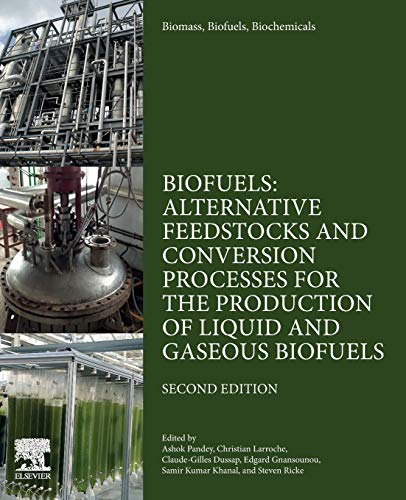 Biomass, Biofuels, Biochemicals: Biofuels: Alternative Feedstocks and Conversion Processes for the Production of Liquid and Gaseous Biofuels
