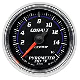 Auto Meter 6144 Cobalt Electric Pyrometer Gauge Kit