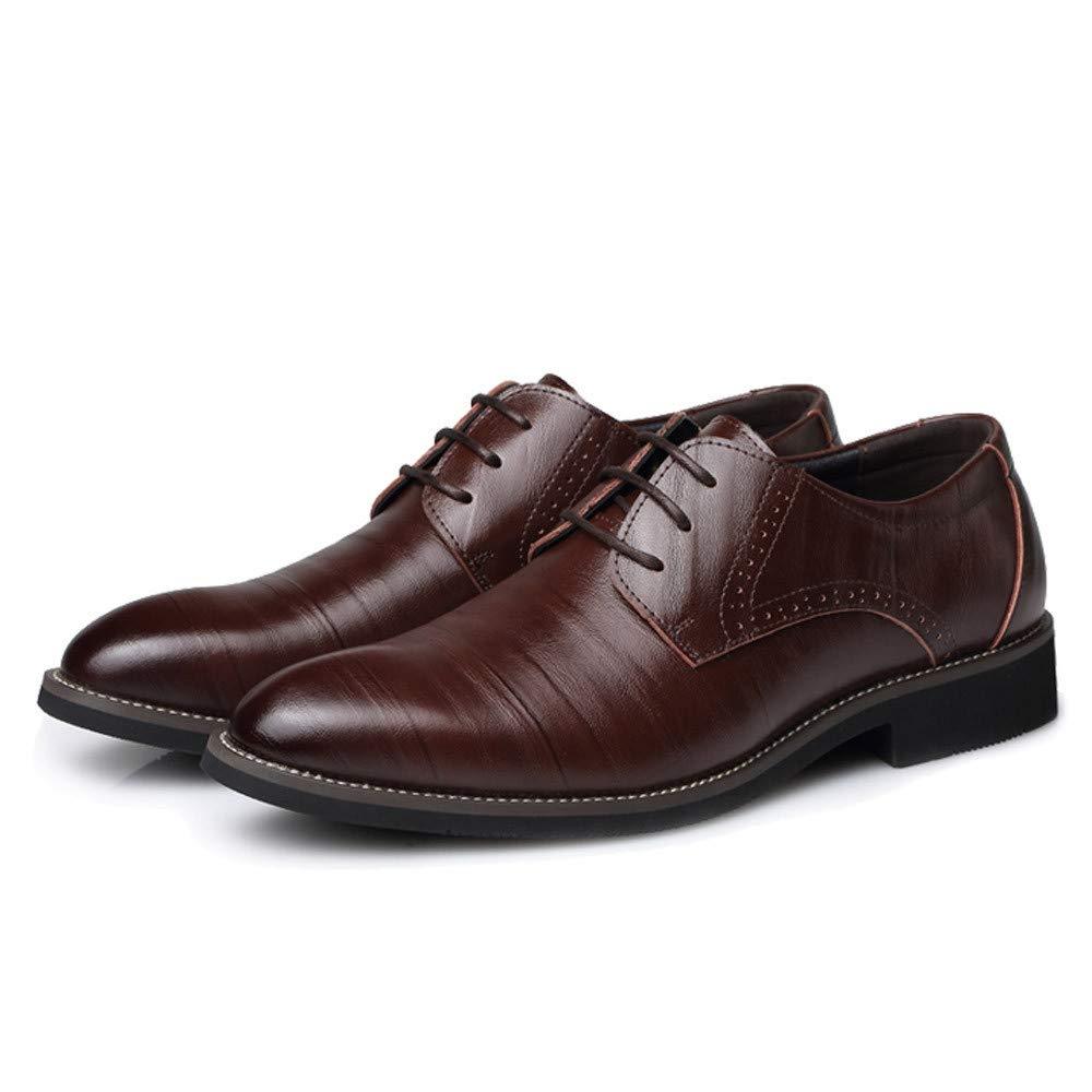 Chaussures Homme Chaussures Hommes Ville Cuir Souple Chaussures d/écontract/ées de Style Classique pour Hommes Respirant
