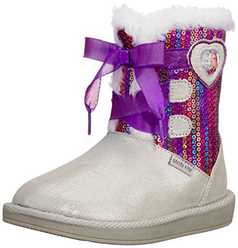 Stride Rite Disney Frozen Cozy Winter Boot (Toddler/Little Kid),Purple, 11 M US Little Kid