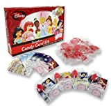 Valentines Day Cards - Disney Princesses - 30 Cards and Lollipops Including Teacher Card
