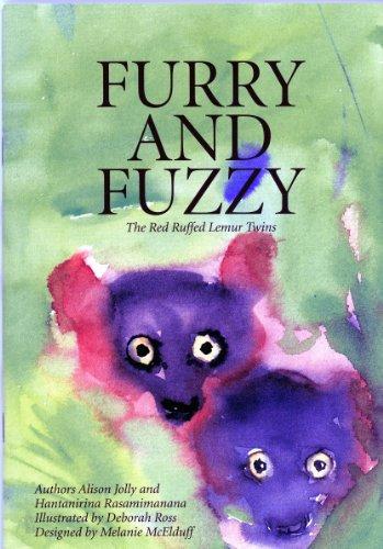 (Furry and Fuzzy The Red Ruffed Lemur Twins (The Ako Series, Madagascar Lemur Adventures) (The Ako Series, Madagascar Lemur Adventures))
