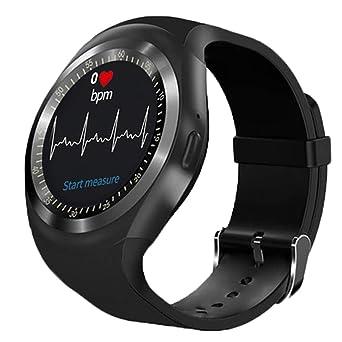 12shage Y1hr Smart Watch Bluetooth Presión sanguínea Teléfono de ...