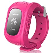 TURNMEON Smart Watch for Kids Children Smartwatch Phone with SIM Calls Anti-lost GPS Tracker SOS Gprs Bracelet Parent Control By Apple IPhone IOS Android Smartphone