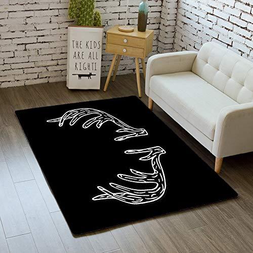 iBathRugs Door Mat Indoor Area Rugs Living