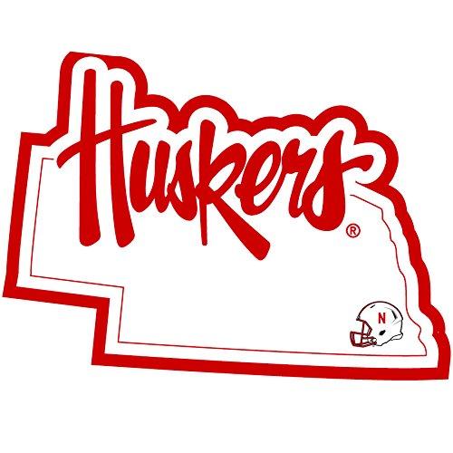 NCAA Nebraska Cornhuskers Home State Decal, 5