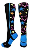 Crazy Stars OTC Socks (Multi-Neon/Black, Medium)