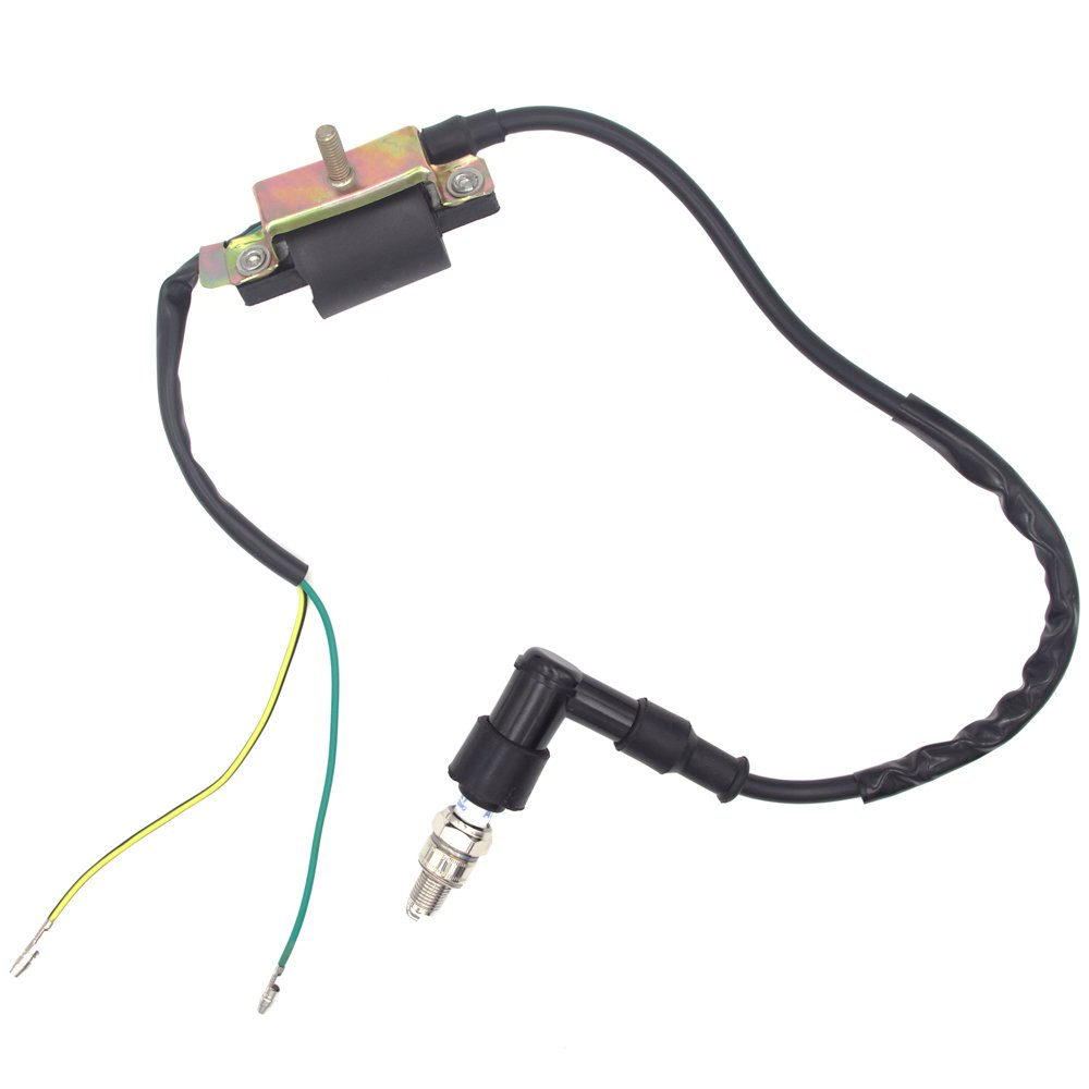 Royitay Kick Start Dirt Pit Bike Wire Harness Wiring Loom Cdi Electric Coil Spark Plug Ignition Magneto