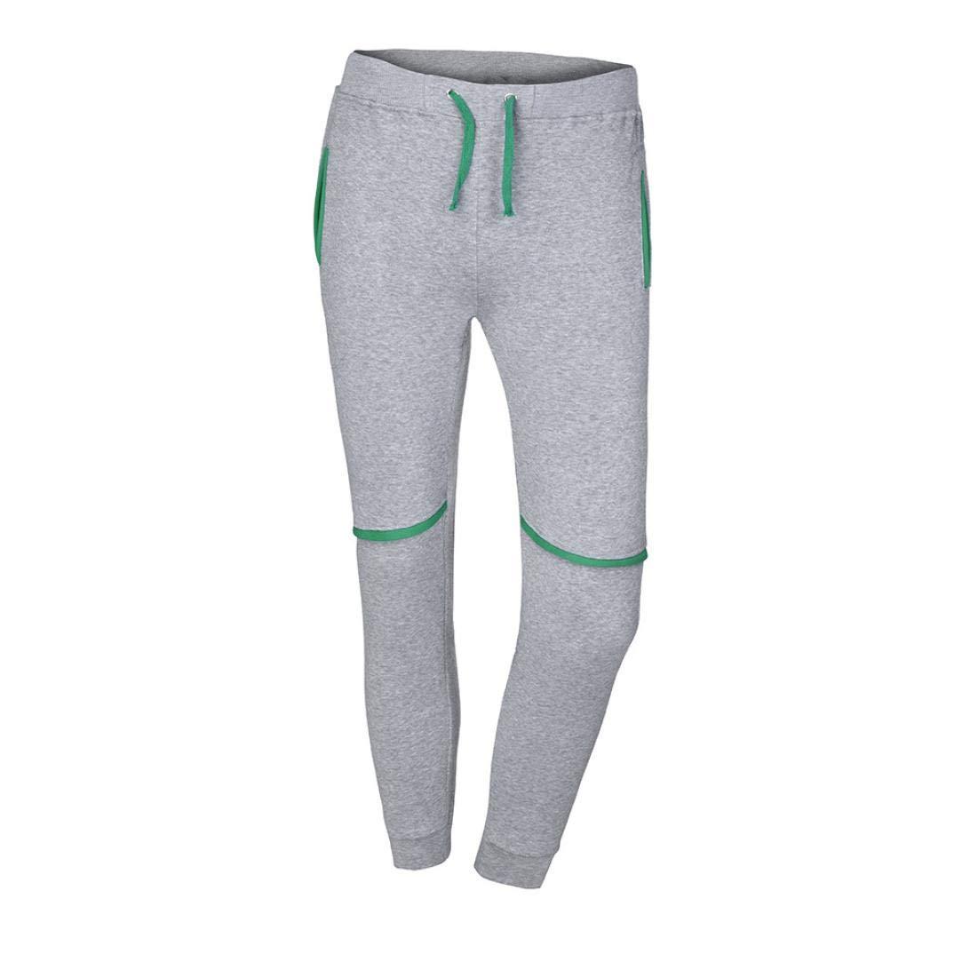 Usstore Mens Pants, Pocket Sport Hiking Casual Mid Pants Trouser Pants for Men Usstore Mens Pants Usstore Men' s pant 45456