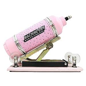 Selani® Auto Sex Machine Fast Thrust Telescopic Pink Masturbation Toy with Dildo