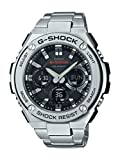 (US) Casio Men's 'G SHOCK' Quartz Resin and Stainless Steel Casual Watch, Color:Silver-Toned (Model: GST-S110D-1ACR)