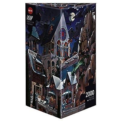 Castello Horror Puzzle Da 2000 Pezzi