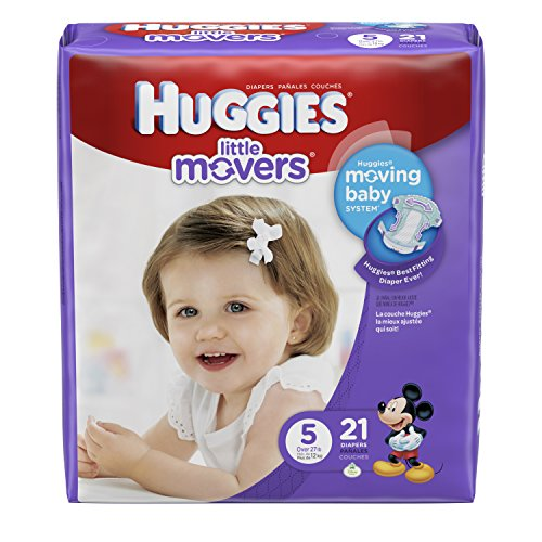 Huggies Little Movers Diapers Count