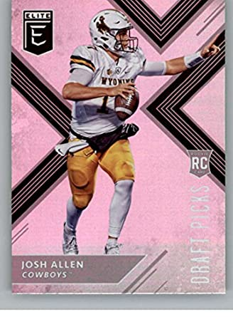 meet b49f2 4fdc3 Amazon.com: 2018 Panini Elite Draft Picks #103 Josh Allen ...