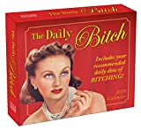 2020 Daily Desk Calendar: The Daily Bitch 365 Boxed Day-To-Day Calendar