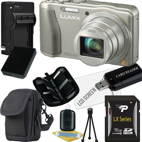 panasonic-lumix-dmc-zs25-digital-camera-silver-16gb-package