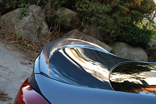 Rear Trunk Lip Spoiler For 2017 Hyundai Elantra : Avante AD (NKA - Pantum black)