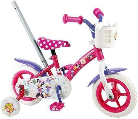Disney Minnie Bow-Tique Bicicleta de niña con Barra de Empuje ...