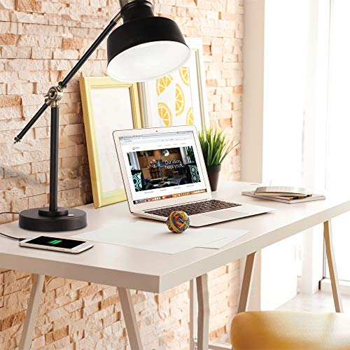 Amazon.com: OttLite Balance LED Desk Lamp with 2.1A USB ...