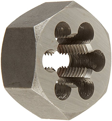 2x2 Die (Drill America DWT Series Qualtech Carbon Steel Hex Threading Die, M14 x 2 Size (Pack of 1))
