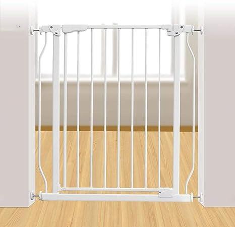 Huo Barrera de Seguridad para Niños Escaleras Barandilla Guardarropa para Perros Cerca del Bebé Puerta del Bebé Aislamiento del Bebé Puerta del Guardia (Size : 88-93CM): Amazon.es: Hogar