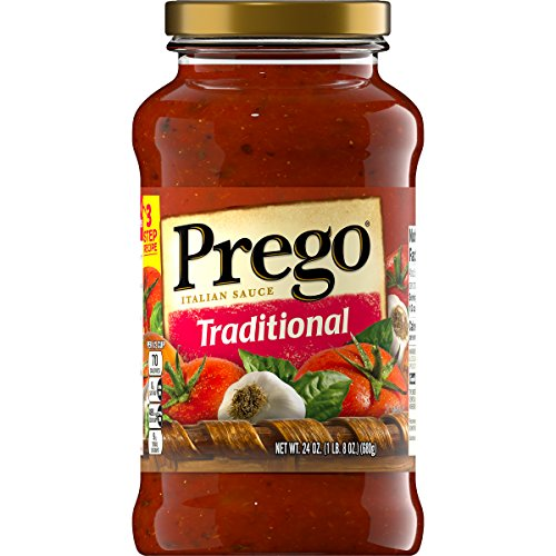 Prego Traditional Italian Sauce, 24 oz. (Pack of 6) ()