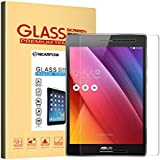"ASUS ZenPad S 8.0 Z580C Screen Protector 8"" (Z580C/Z580CA), Nearpow Tempered Glass [2.5D Round Edge] [9H Hardness] [Crystal Clear] [Easy Bubble-Free Installation] [Scratch Resist]"