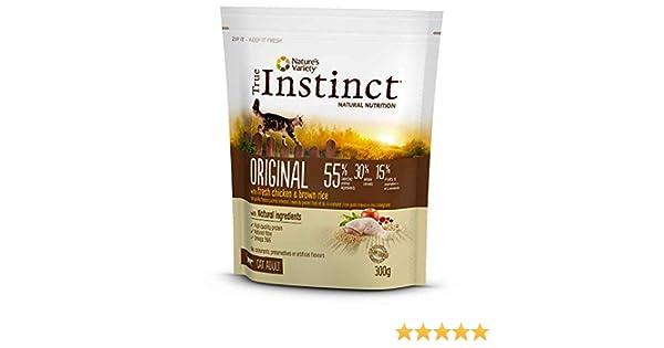 Pienso Instinct - Pienso True Instinct Chicken & Rice Cat, 300 G ...