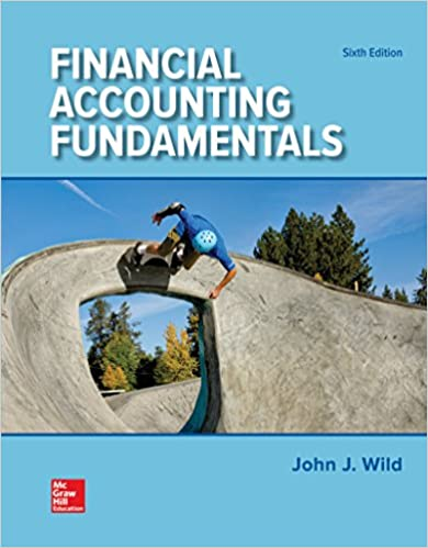Financial Accounting Fundamentals: John J Wild, Ken W  Shaw, Barbara