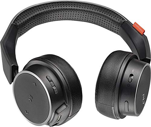 Plantronics BackBeat FIT 505 Wireless On Ear Headphones Black (Renewed)