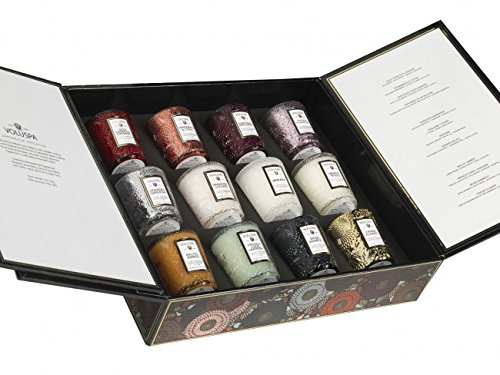- Voluspa 12 Candle Japonica Archive Gift Set, 1 Ounce