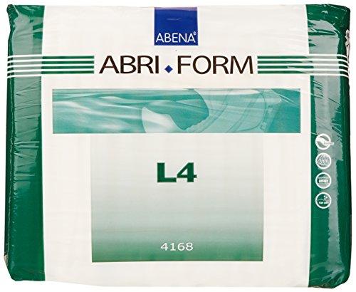Abena Abri-Form Comfort Briefs, Large, L4, 36 Count (3 Packs of 12)