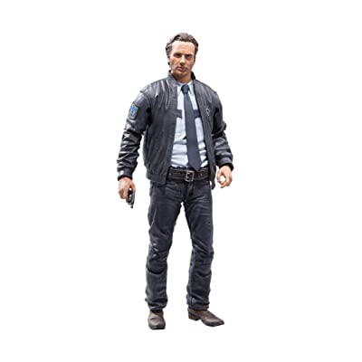 McFarlane Toys The Walking Dead Rick Grimes Series 10 Action Figure: Toys & Games