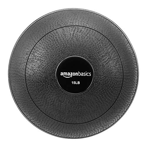AmazonBasics Slam Ball, Smooth Grip, 15-Pound