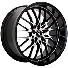 "Konig Lace Black Wheel with Machined Face (17x7""/5x110mm)"