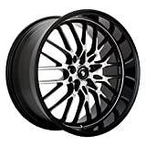 #5: Konig Lace Black Wheel with Machined Face (15x6.5